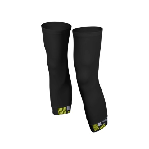 Knee warmers, sport, cycling, Fluo