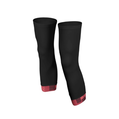 Knee warmers, sport, cycling, Red
