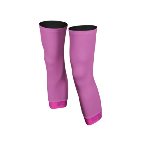 Knee warmers, sport, cycling, Pink