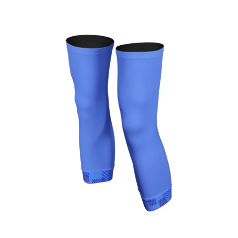 Knee warmers, sport, cycling, Blue