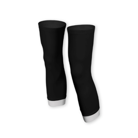 Knee warmers, sport, cycling, Gray