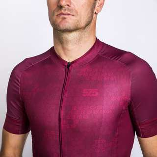jersey, cycling, , , , , Burgundy