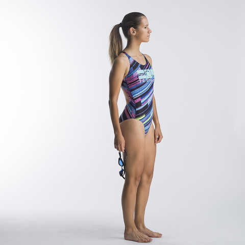 Swimming dress, Swimsuit, for woman, Dynamic