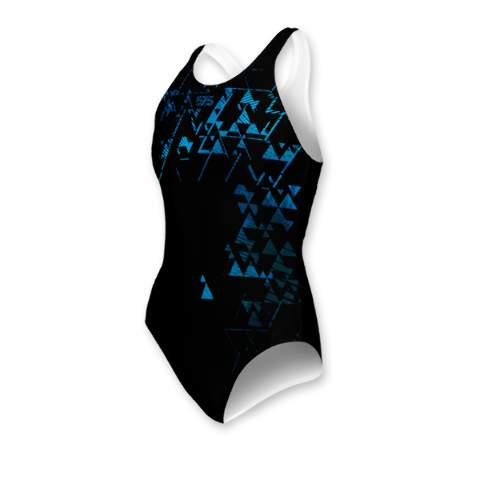 Swimming dress, Swimsuit, for woman, Blue