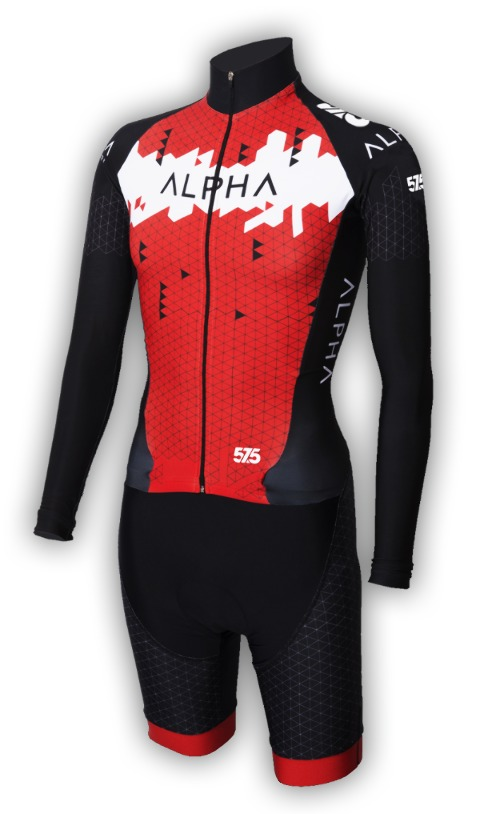 Cyclocross, suit, , , Red