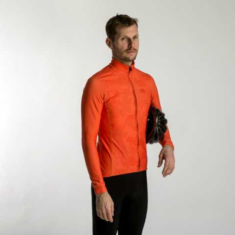Thermojacke, Radfahrer, , Orange