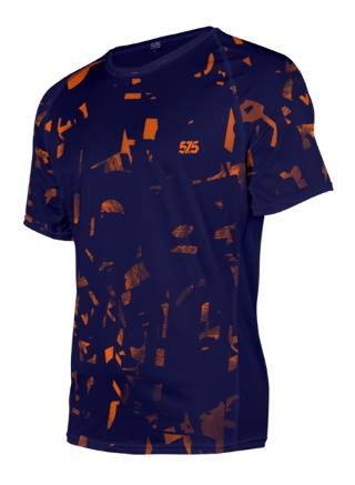 futópóló, t-shirt, futó póló, Orange